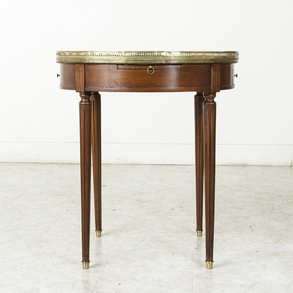 Louis Xvi Table Bouillotte French Metro Antiques