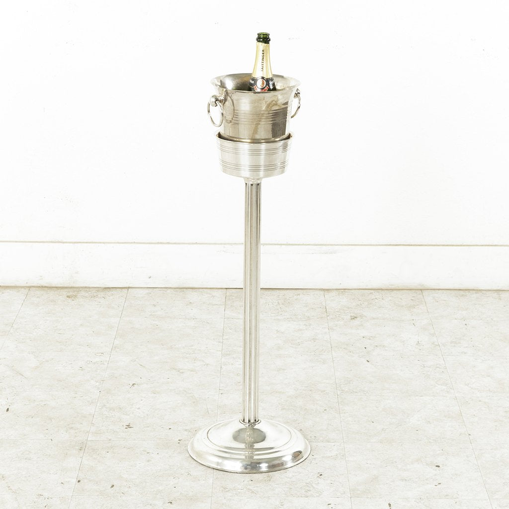 Champagne Bucket Stand French Metro Antiques