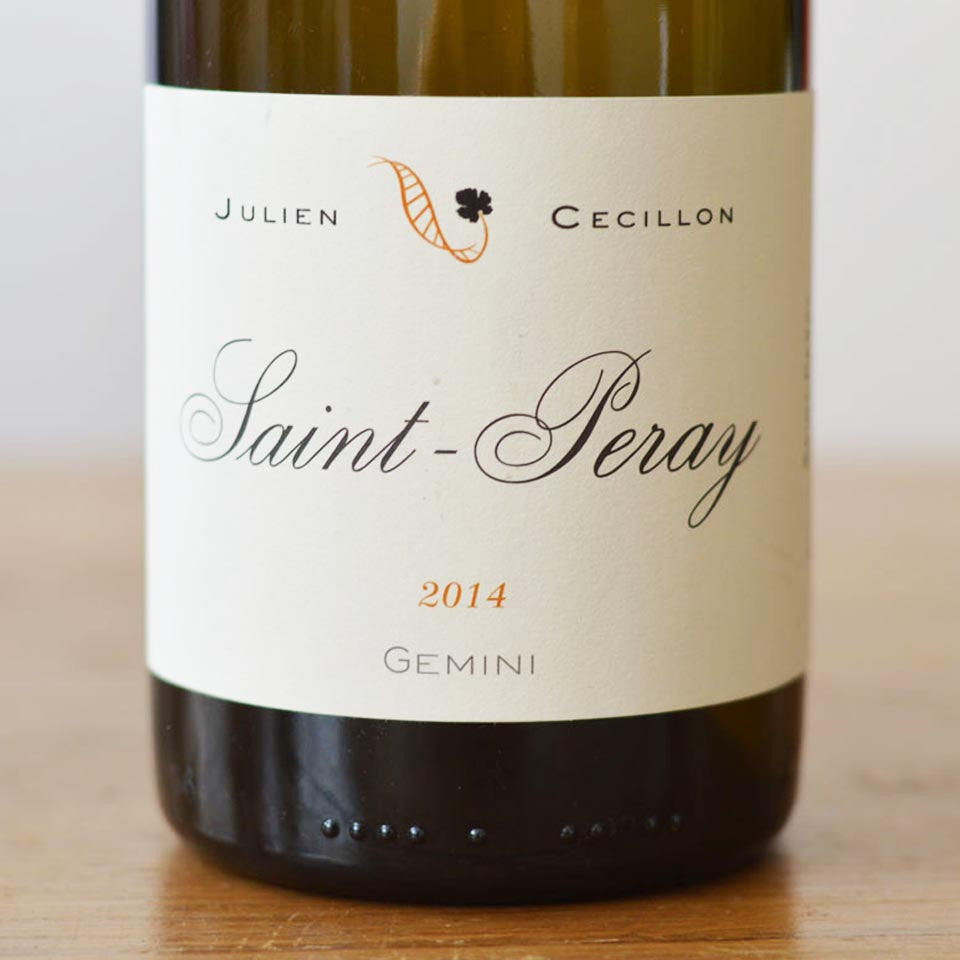 "Julien Cécillon St. Peray ""Gemini"" 2014"