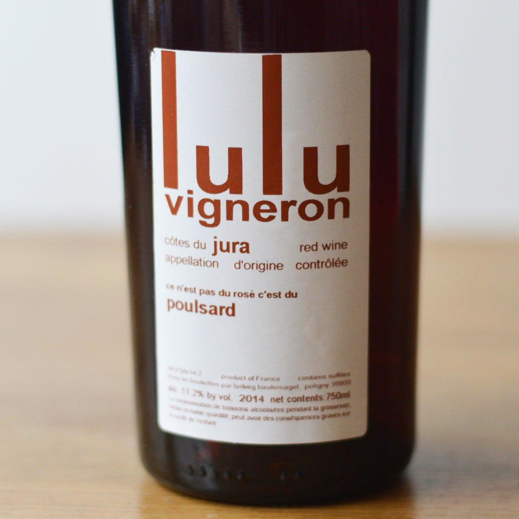 Lulu Vigneron 100% Poulsard 2014 (formerly Chais du Vieux Bourg)