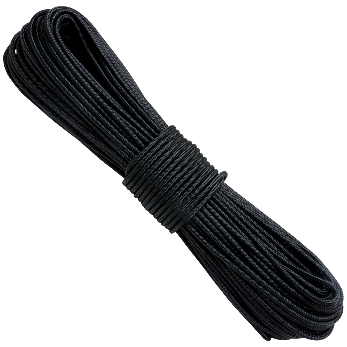 "1/8"" x 100ft 12 Strand Tactical - Black"