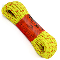 1/4 x 100ft - Canary Yellow w/ Red Tracer