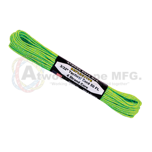 3/32 x 50ft Tactical Reflective - Neon Green