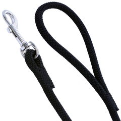 3/8 Black Rope Leash