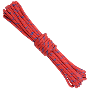 3/8 Kevlar - Red w/ Blue Tracer