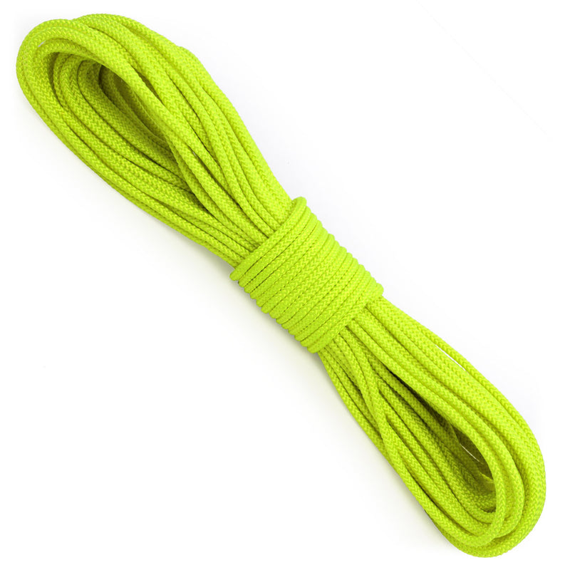 Polyester 7/32 x 100ft - Neon Yellow