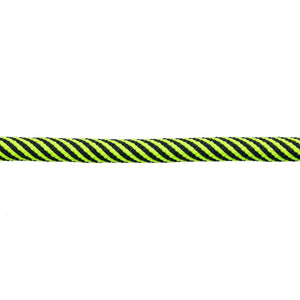 3/8 - Neon Green & Black Striped