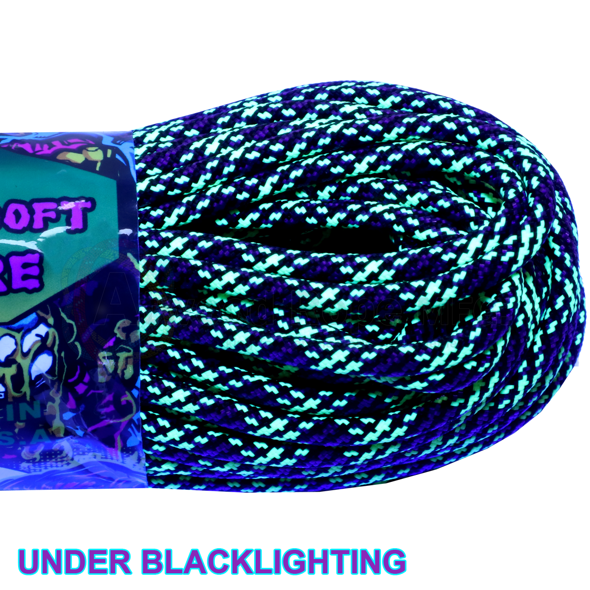 550 x 100ft Paracord Dark Matter