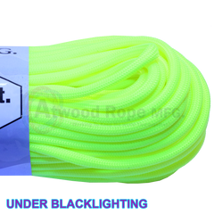 550 x 100ft / 1000ft Paracord Neon Yellow