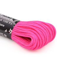550 Paracord Reflective - Hot Pink
