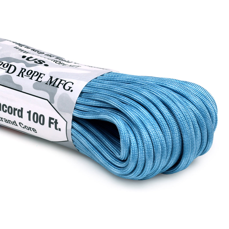550 x 100ft Paracord - Maya Blue