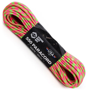 550 Paracord - Neon Explosion