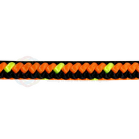 5/8 x 150ft Arborist Tree Line - Neon Orange Black & Neon Yellow