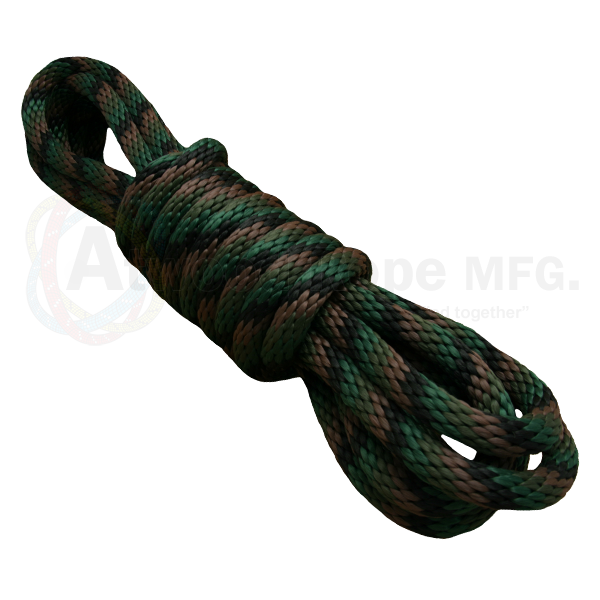 5/8 Solid Braid Derby Line Woodland Camo