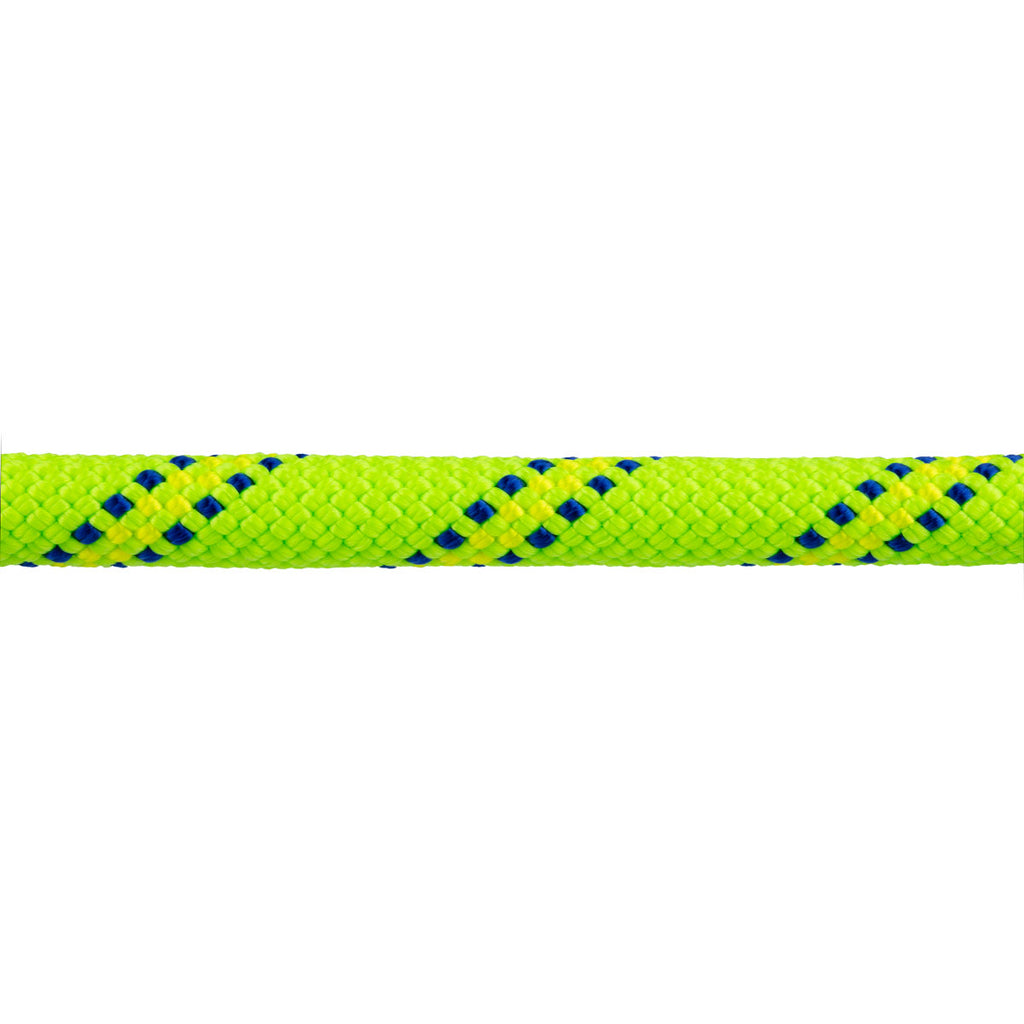 "7/16"" Static Rappelling - Neon Green w/ Navy & Royal Blue Tracer"