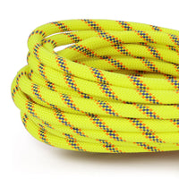 7/16 x 150ft Static Rappelling - Neon Yellow, Neon Orange & Blue
