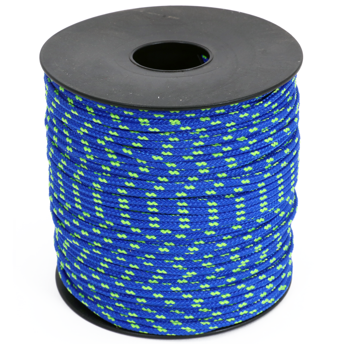 Arborist Throw Line - Blue w/ Neon Green Tracer