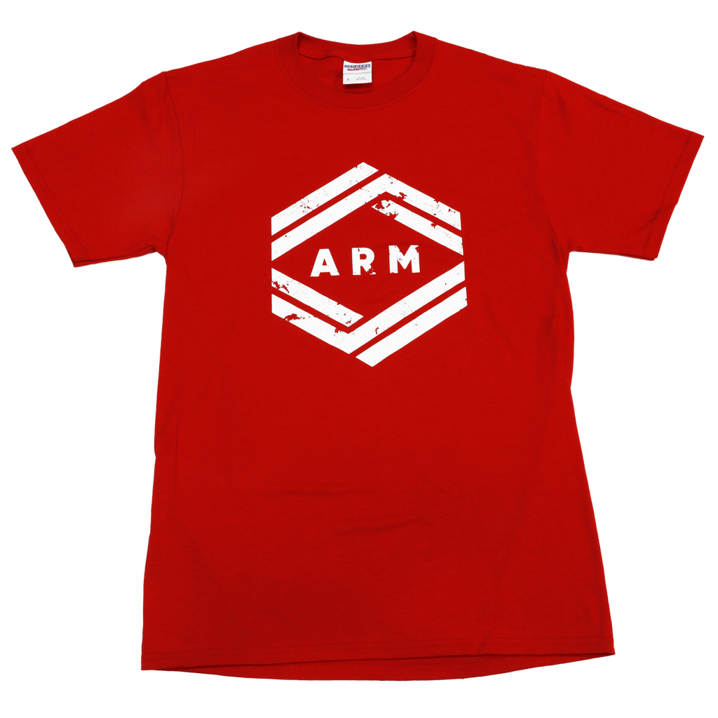 ARM Red w/ White T-Shirt