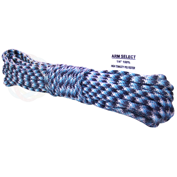 Polyester 1/4 x 100ft - Blue Snake