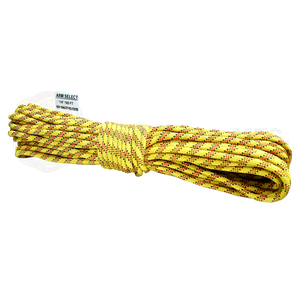 Polyester 1/4 x 100ft - Yellow, Red & Black Tracer