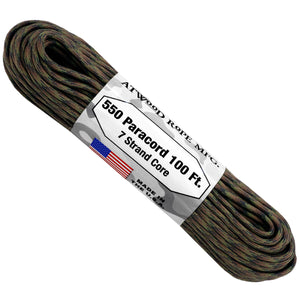 550 x 100ft Paracord - Apache