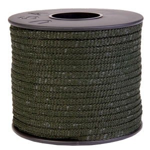 "Face Mask Elastic - Clearance Dark Forest Green - 5/32"" X 100 ft spool"