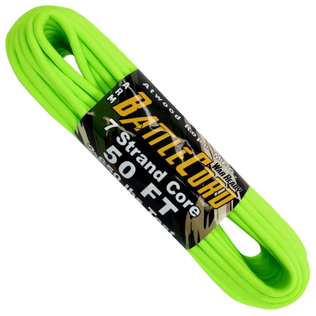 5.6mm Battle Cord - Neon Green