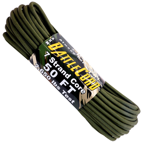 5.6mm Battle Cord - Olive Drab