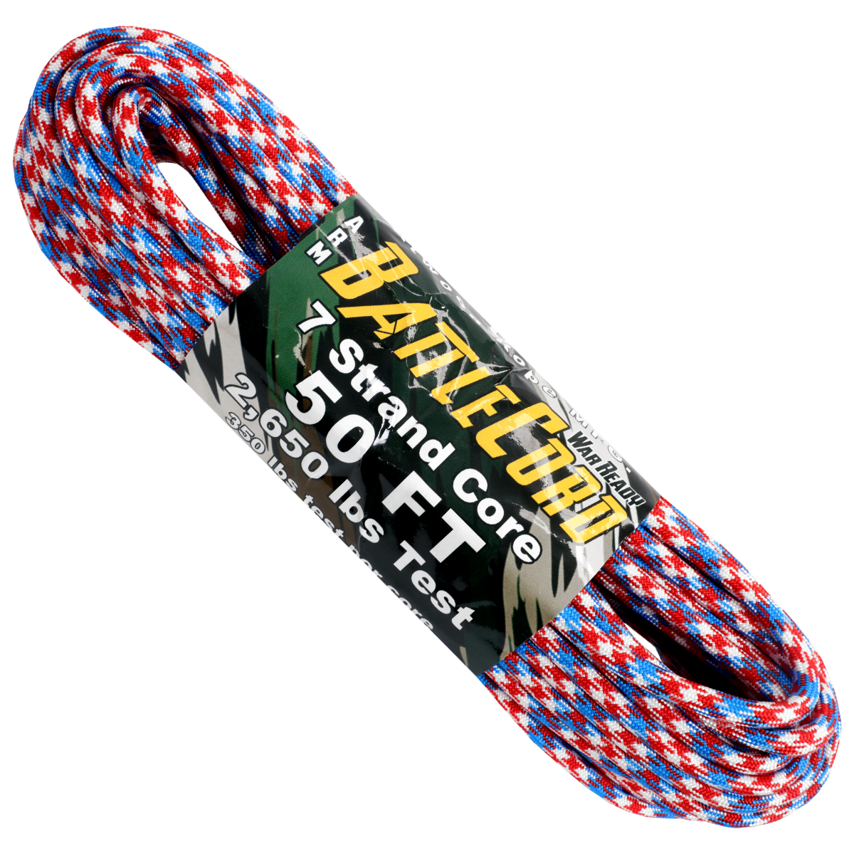 5.6mm x 50ft Battle Cord - Patriot