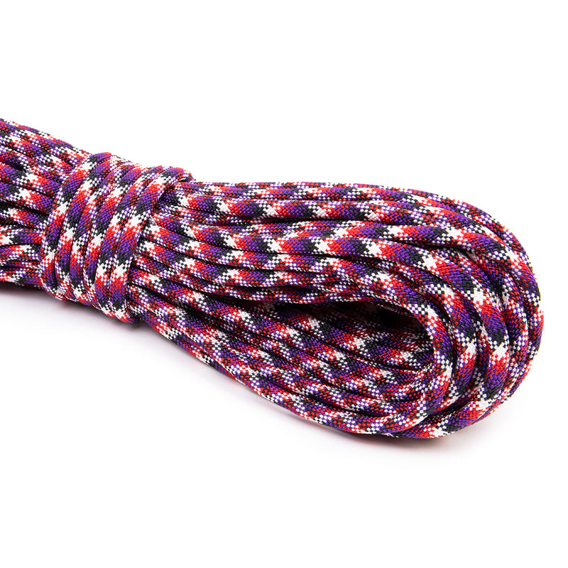 3/8 - Black Purple Red White Snake