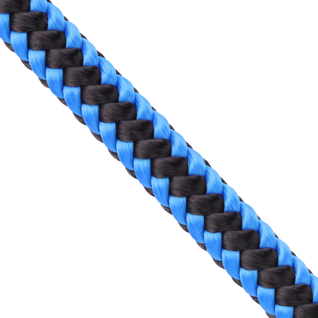 "1/2"" Arborist Rope - Blue & Black"