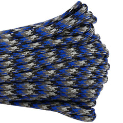 550 x 100ft Paracord Blue Steel