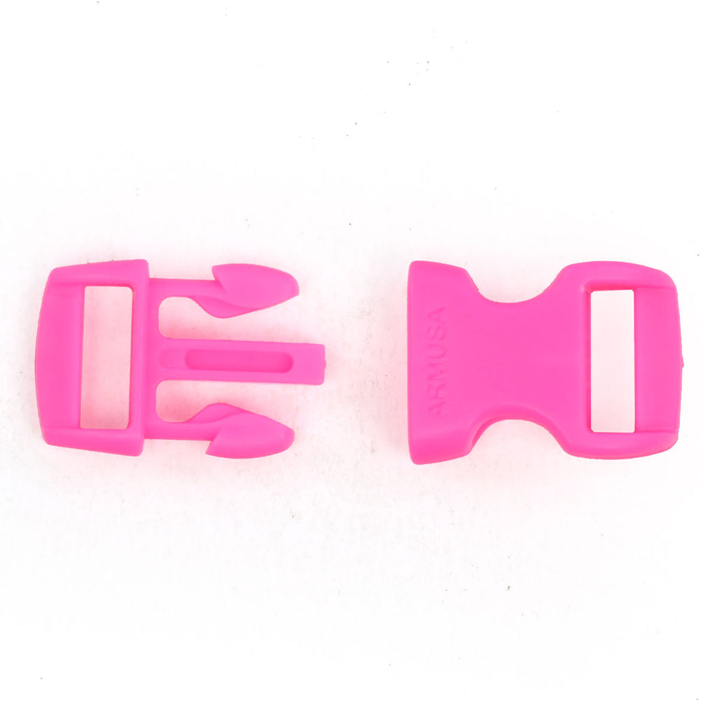 Paracord Buckles - Hot Pink