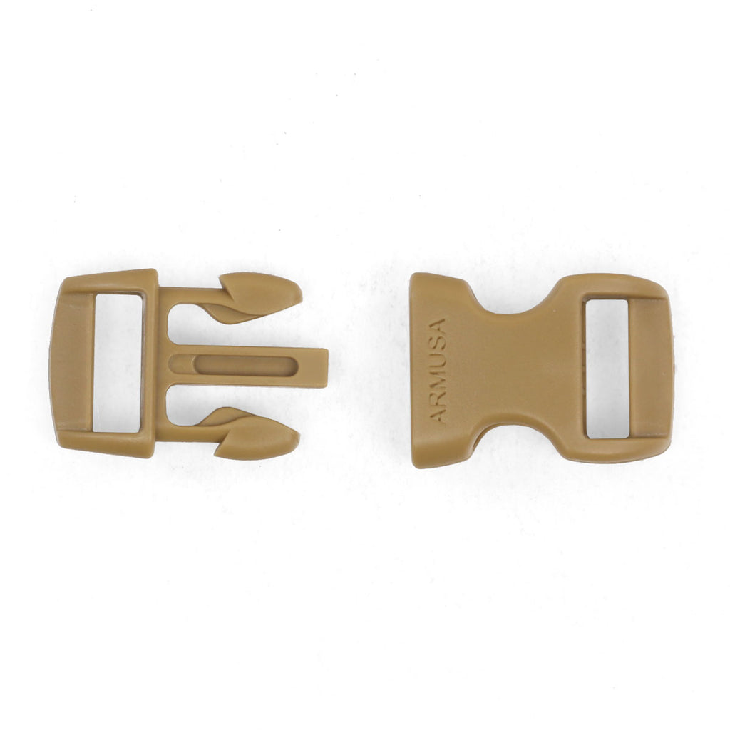 Paracord Buckles - Tan