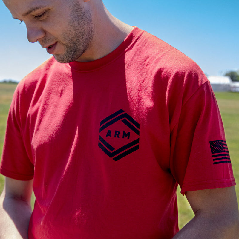 ARM Summit Red T-Shirt