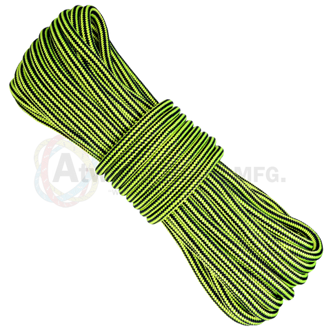 3/4 x 150ft Arborist Rope - Neon Yellow & Black