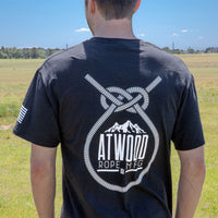 ARM Twisted Peak Black T-Shirt
