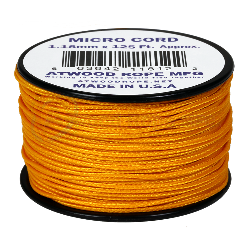 1.18mm Micro Cord - Air Force Gold