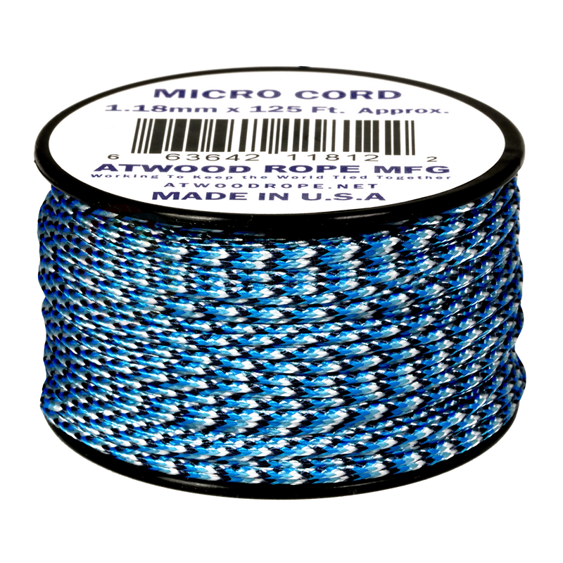 1.18mm Micro Cord - Blue Snake