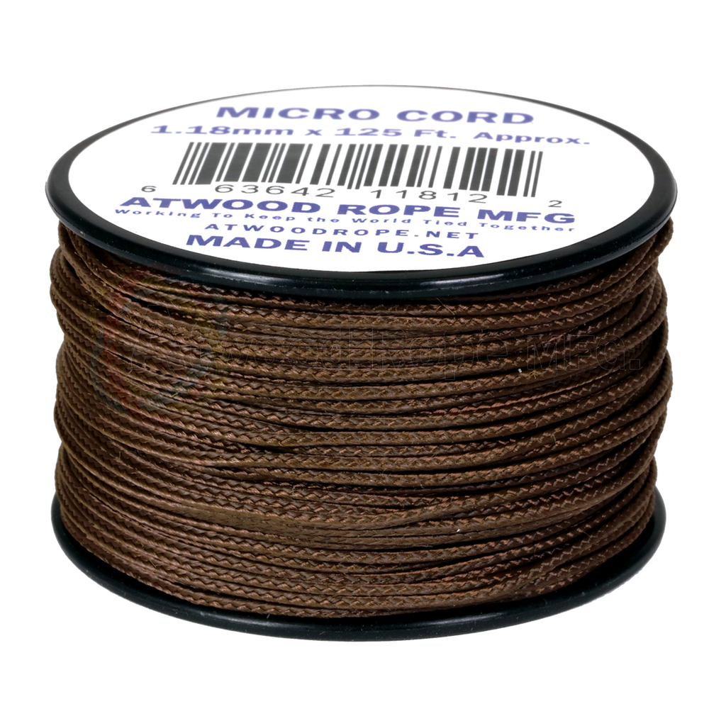 1.18mm Micro Cord - Brown