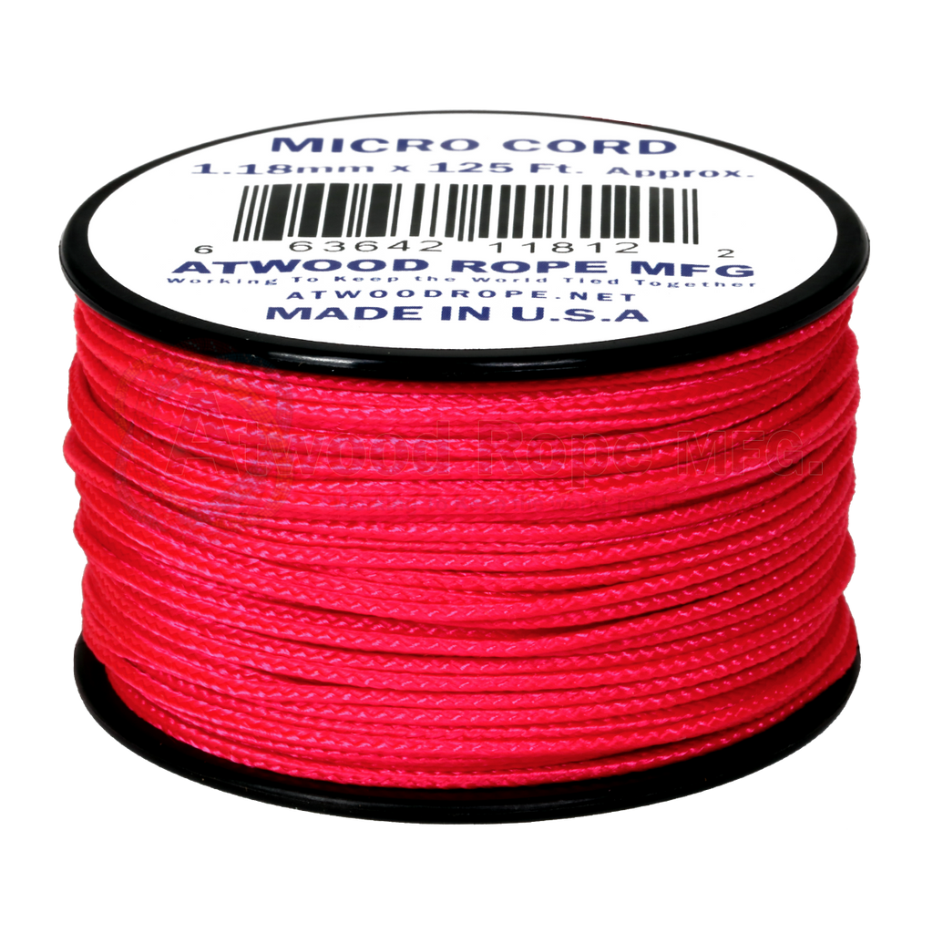 1.18mm Micro Cord - Hot Pink