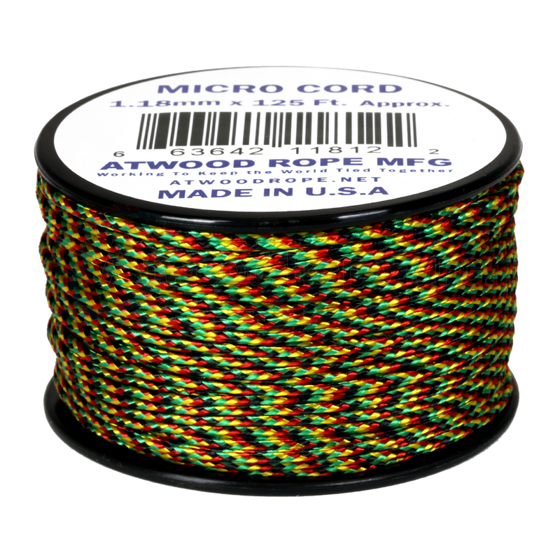 1.18mm Micro Cord - Jamaican Me Crazy