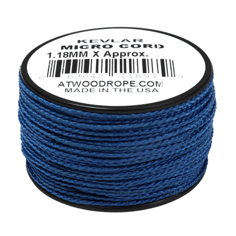 1.18mm x 80ft Micro Cord Kevlar - Blue