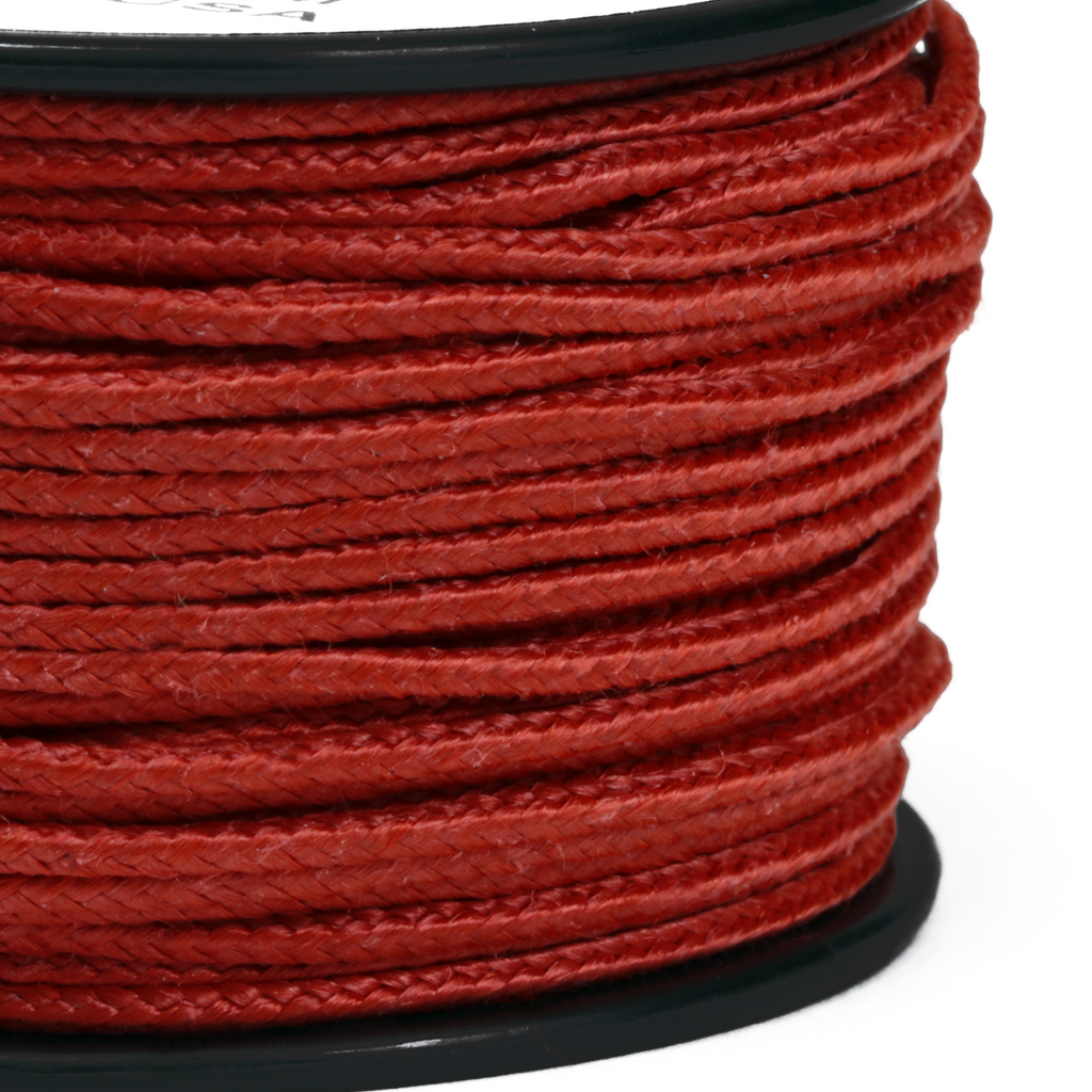 1.5mm x 80ft Micro Cord Kevlar - Red