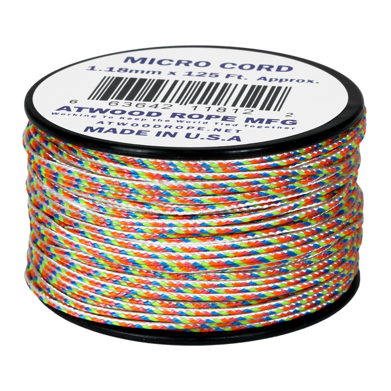 1.18mm Micro Cord - Light Stripes