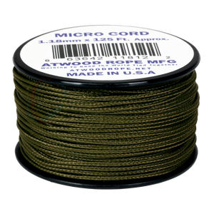1.18mm Micro Cord - Olive Drab