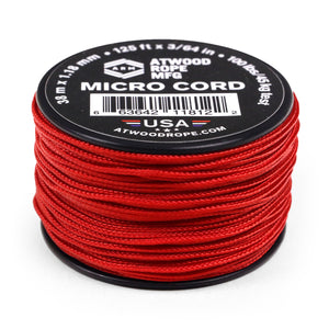 1.18mm Micro Cord - Red