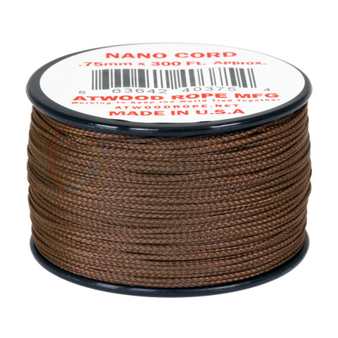 .75mm Nano Cord - Brown