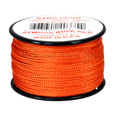 .75mm Nano Cord - Burnt Orange