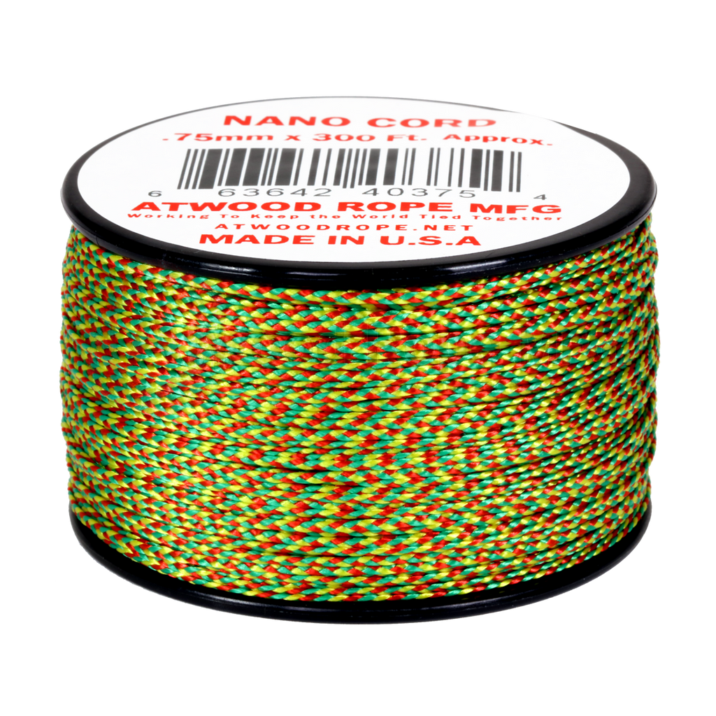 .75mm Nano Cord - Jamaican Me Crazy